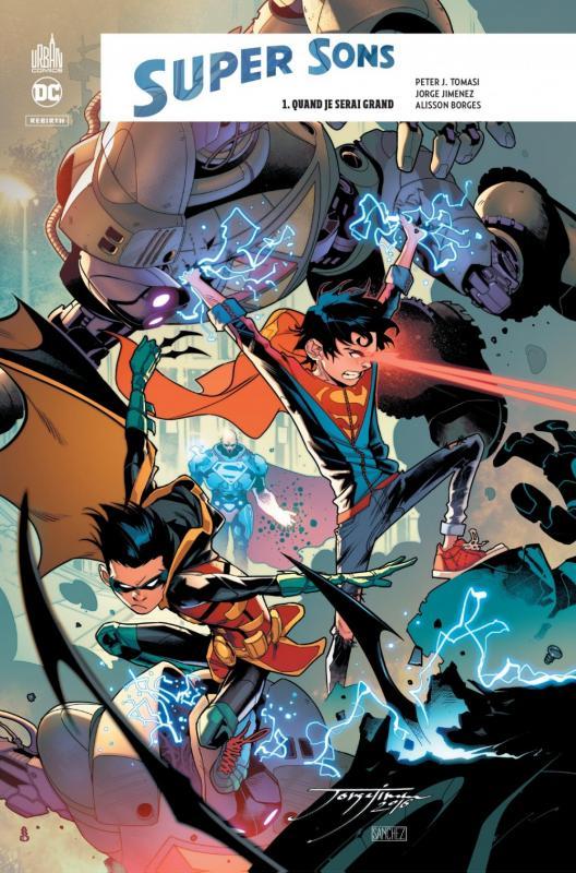 DC REBIRTH - SUPER SONS TOME 1