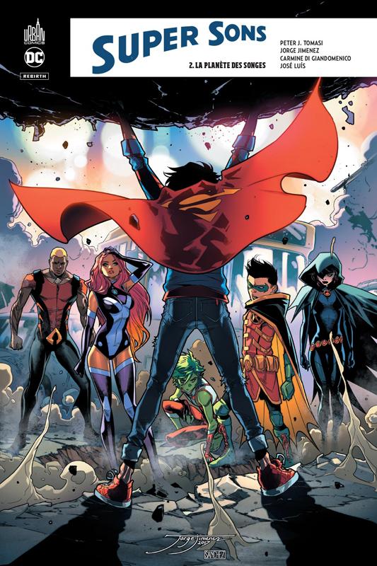DC REBIRTH - SUPER SONS TOME 2
