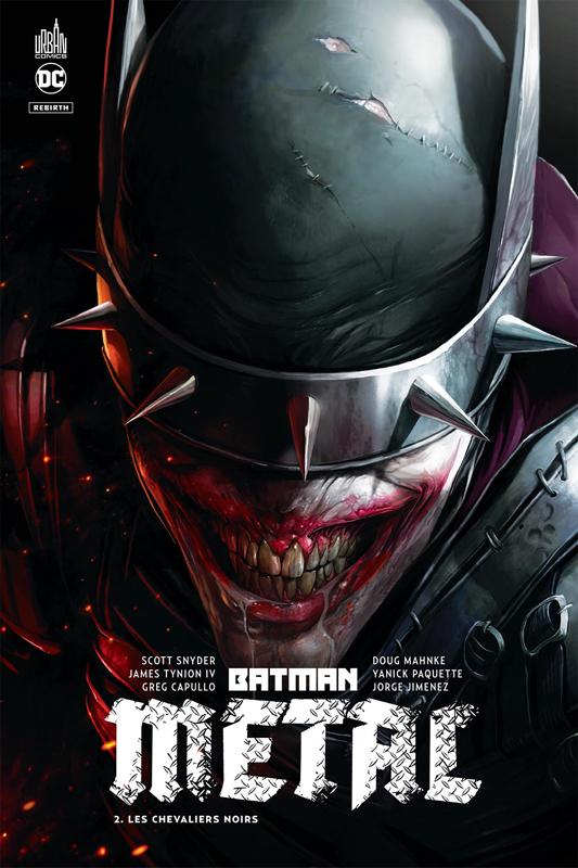 DC REBIRTH - BATMAN METAL TOME 2