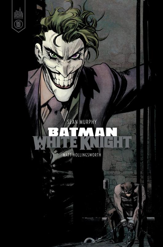 DC BLACK LABEL - BATMAN WHITE KNIGHT - VERSION COULEUR