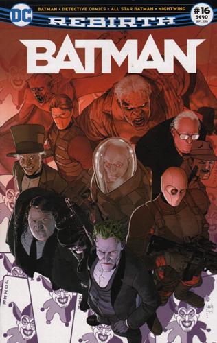 BATMAN REBIRTH 16 LE CHOIX D'UNE VIE !