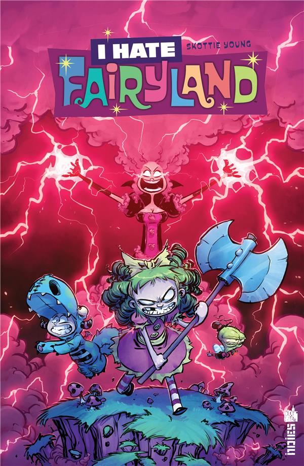 URBAN INDIES - I HATE FAIRYLAND TOME 4