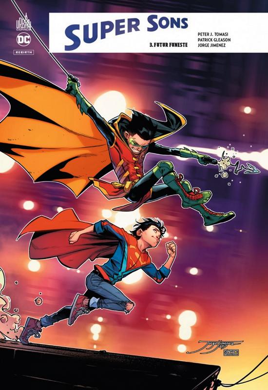 DC REBIRTH - SUPER SONS TOME 3