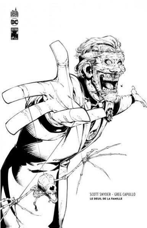 DC ESSENTIELS - T02 - BATMAN : LE DEUIL DE LA FAMILLE EDITION N&B 80 ANS