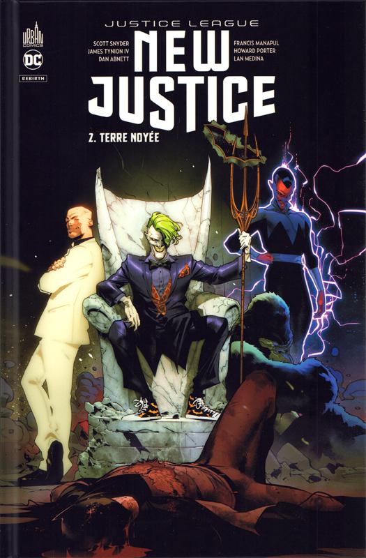 DC REBIRTH - NEW JUSTICE  TOME 2
