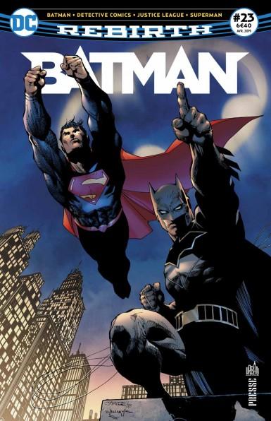 BATMAN REBIRTH 23 ACTION COMICS: MILLE EPISODES!