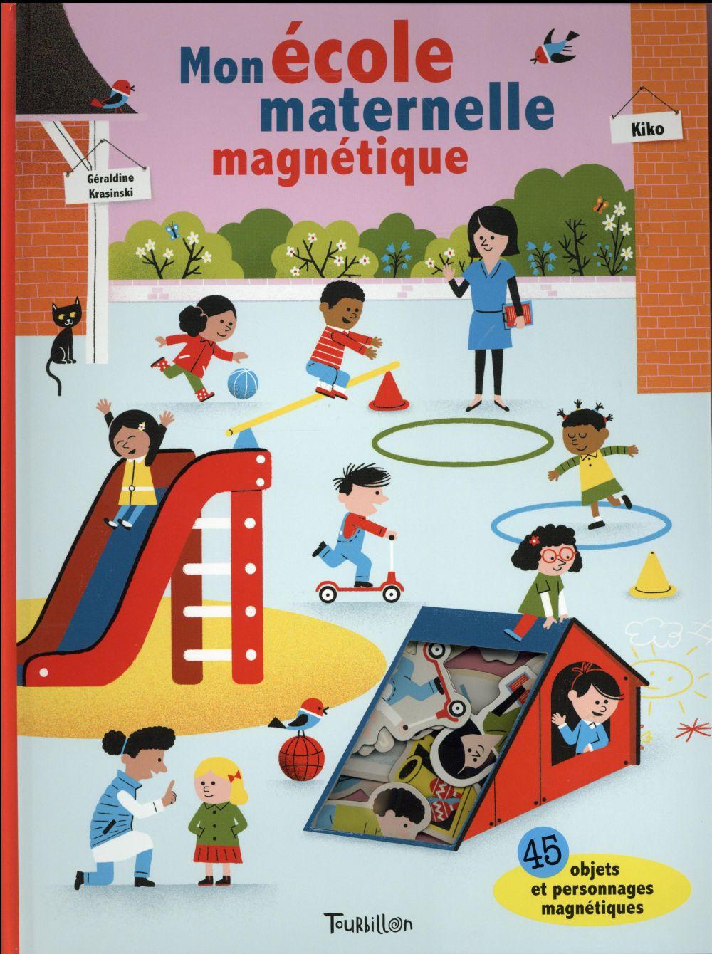 MON ECOLE MATERNELLE MAGNETIQUE - LIVRE MAGNETIQUE