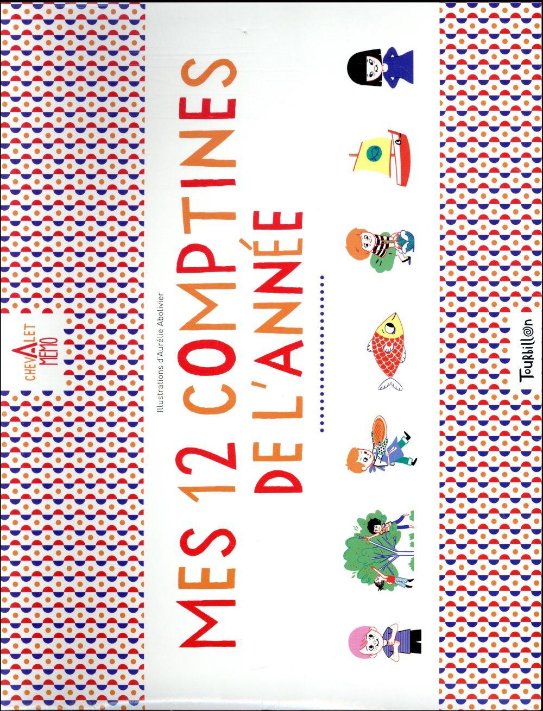CHEVALET MEMO - MES 12 COMPTINES DE L'ANNEE
