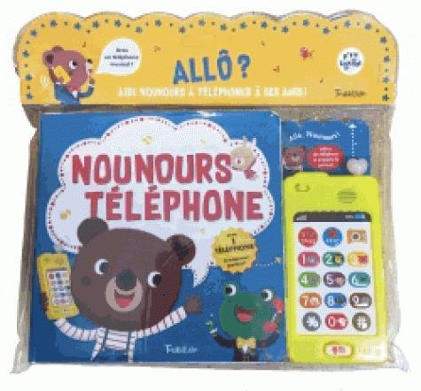 NOUNOURS TELEPHONE - LIVRE SONORE