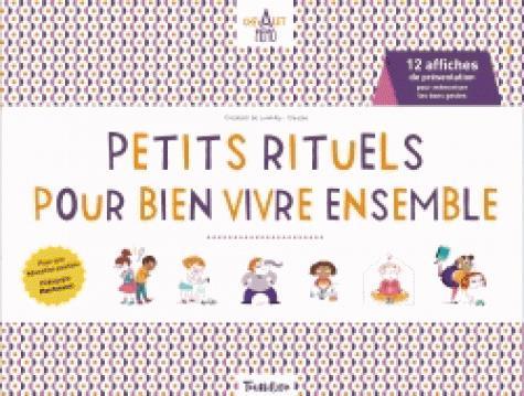 PETITS RITUELS POUR BIEN VIVRE ENSEMBLE - CHEVALET MEMO