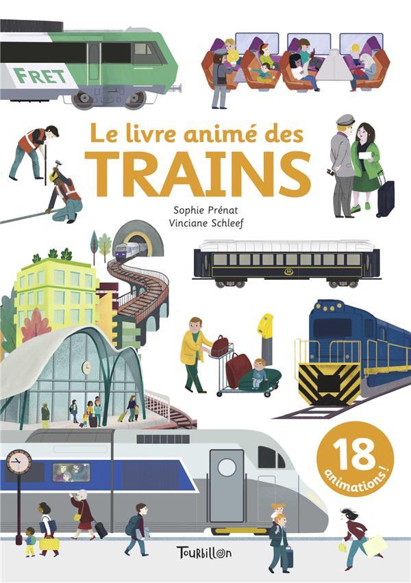 LE LIVRE ANIME DES TRAINS