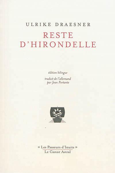 RESTE D'HIRONDELLE