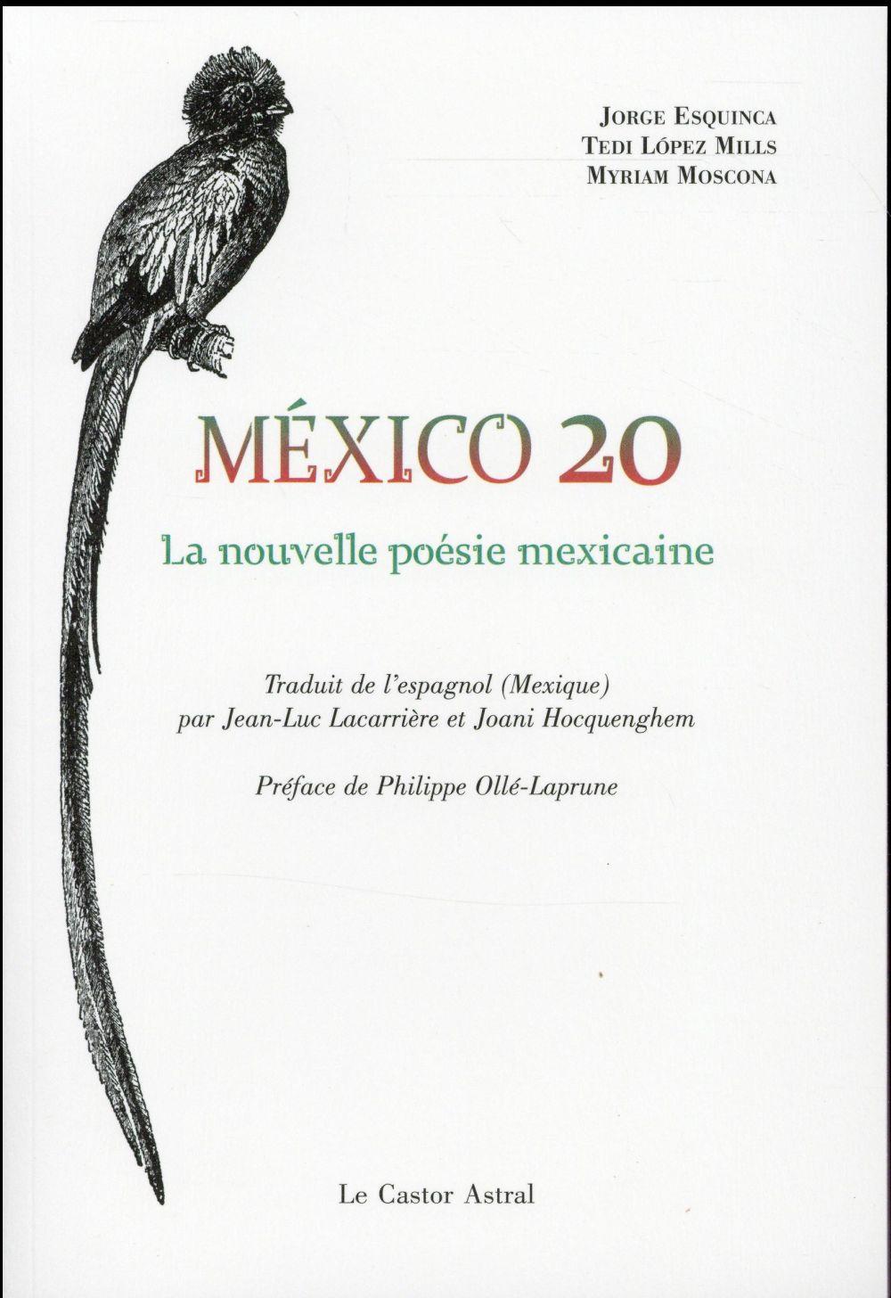 MEXICO 20 - LA NOUVELLE POESIE MEXICAINE