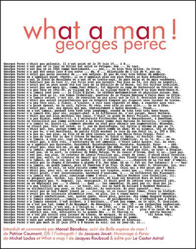 WHAT A MAN