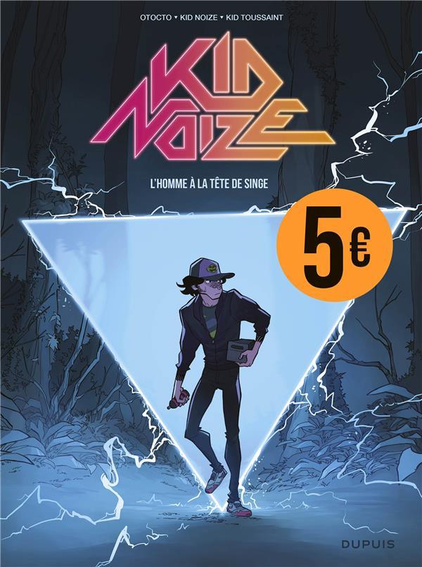KID NOIZE - TOME 1 - L'HOMME A LA TETE DE SINGE (PRIX REDUIT)