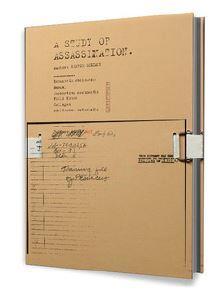 GEORGE SELLEY A STUDY OF ASSASSINATION /FRANCAIS/ANGLAIS