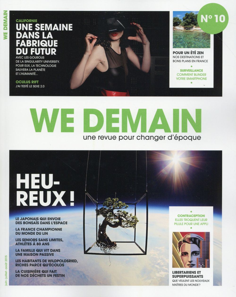 WE DEMAIN - NUMERO 10 - VOLUME 10