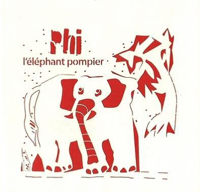 PHI L'ELEPHANT POMPIER
