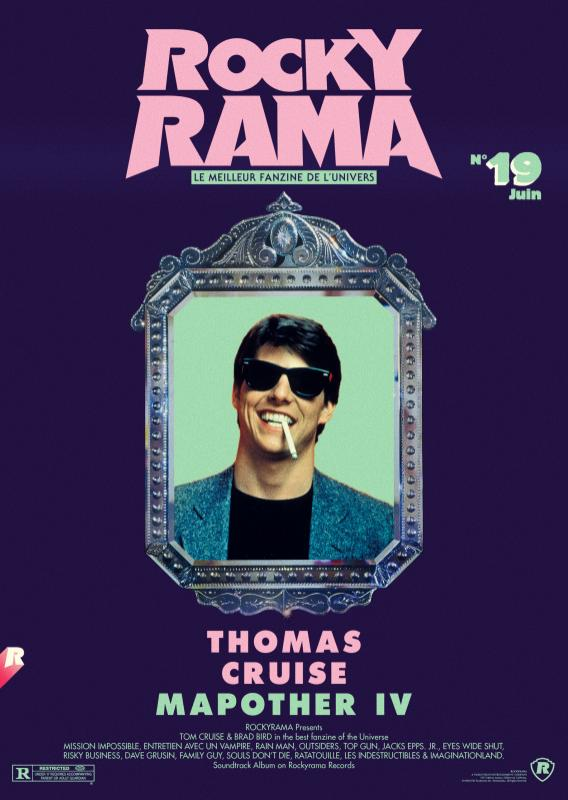 ROCKYRAMA 19 TOM CRUISE, BRAD BIRD