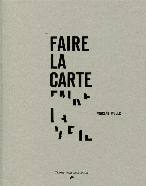 FAIRE LA CARTE