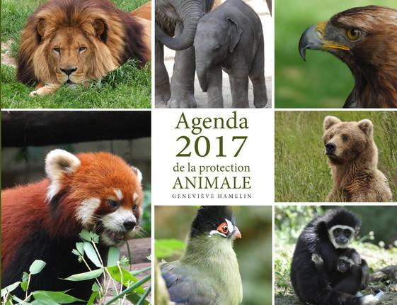 AGENDA 2017 DE LA PROTECTION ANIMALE