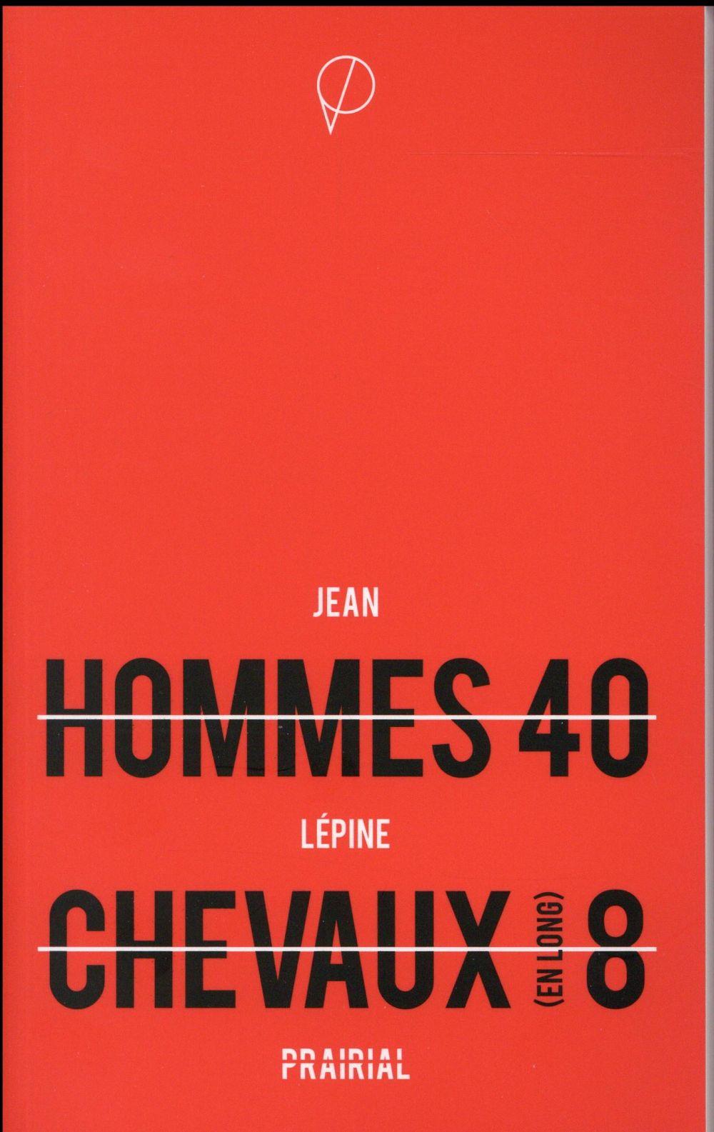 HOMMES 40 CHEVAUX (EN LONG) 8