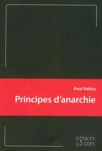 PRINCIPES D'ANARCHIE