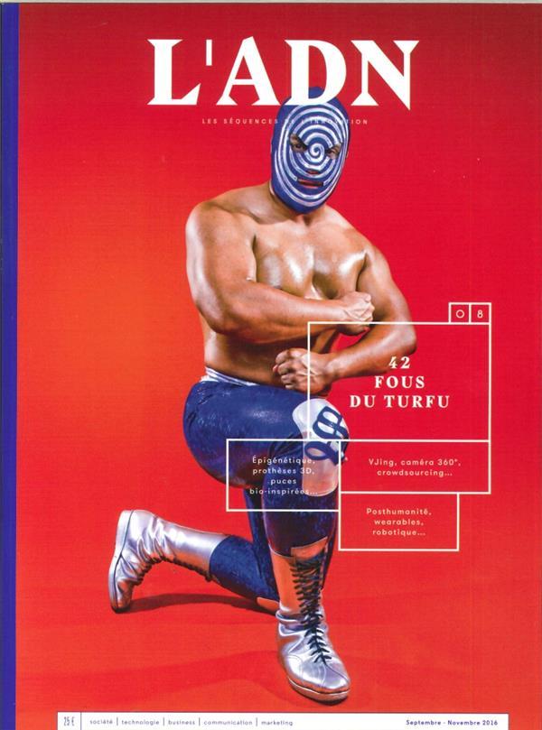 L'ADN N 8  42 SUPERHEROS DE L'INNOVATION SEPTEMBRE 2016