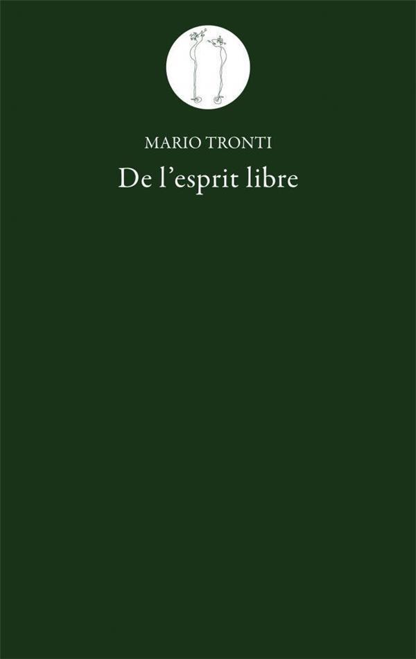 DE L\'ESPRIT LIBRE
