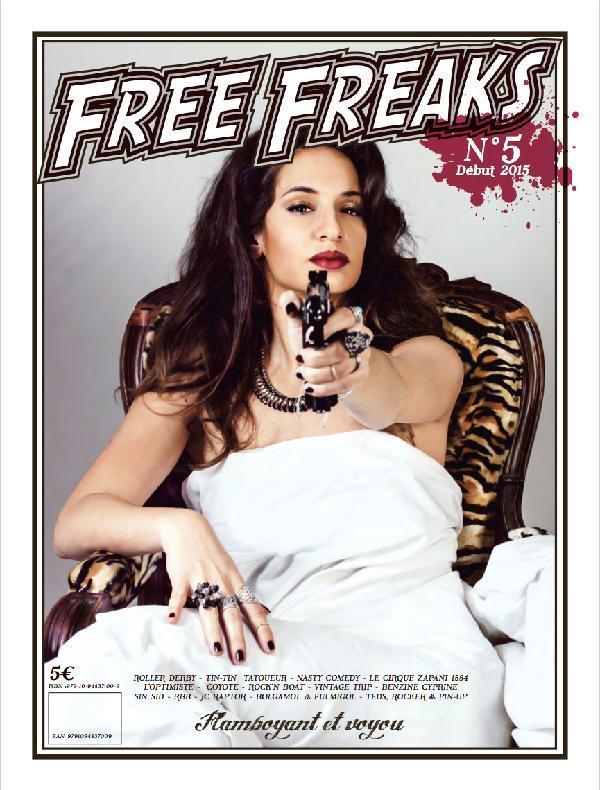 FREE FREAKS N 5 - JOURNAL FLAMBOYANT ET VOYOU