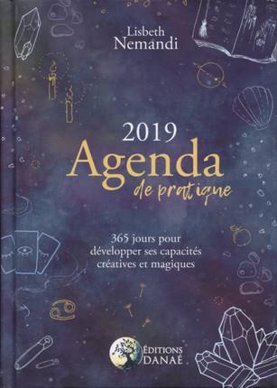AGENDA DE PRATIQUE 2019 - 365 JOURS POUR DEVELOPPER SES CAPACITES CREATIVES ET MAGIQUES
