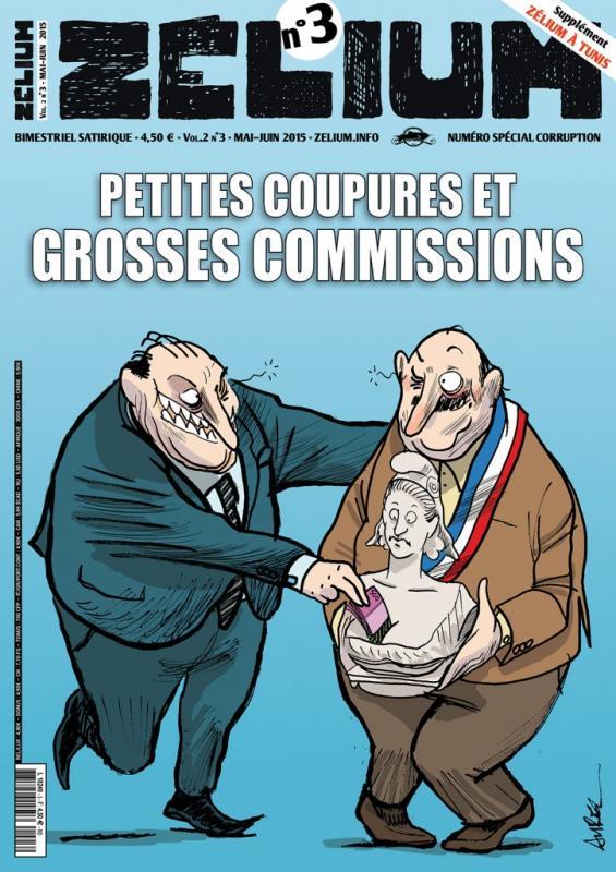 ZELIUM N 3, CORRUPTION, PETITES COUPURES ET GROSSES COMMISSIONS