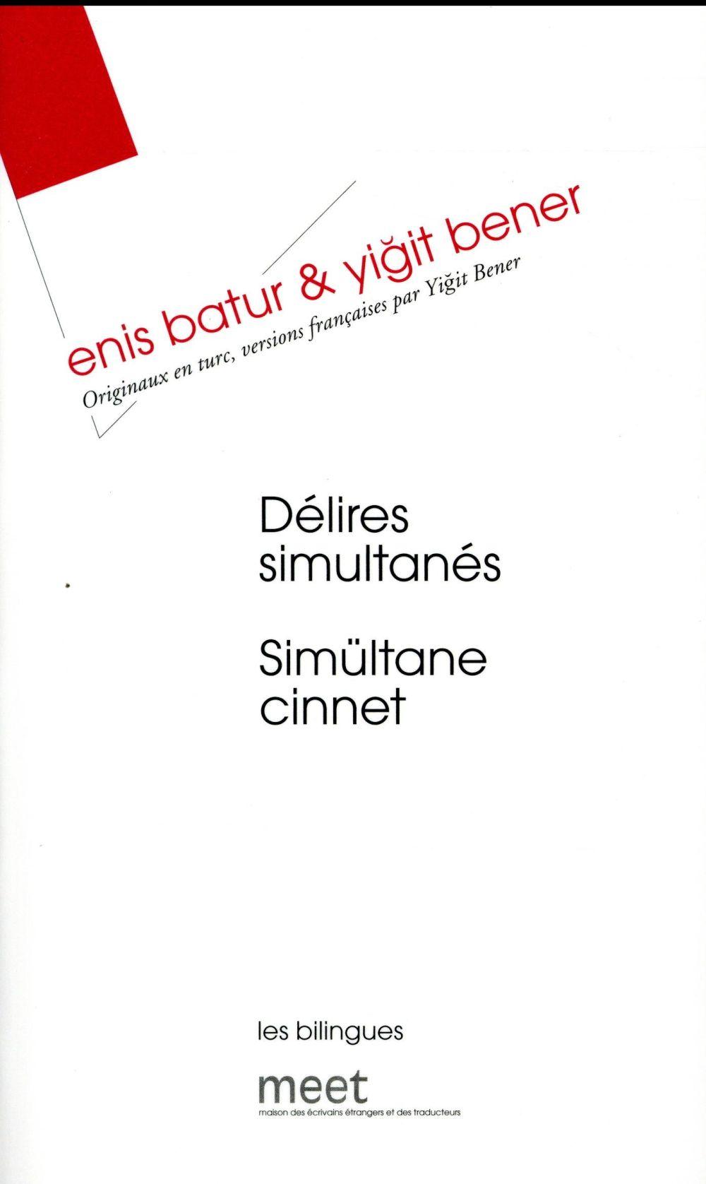 DELIRES SIMULTANES