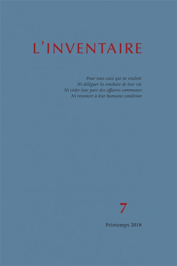 INVENTAIRE N 7