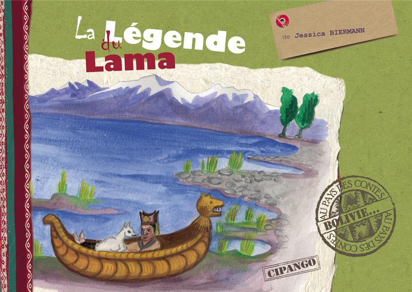 LA LEGENDE DU LAMA