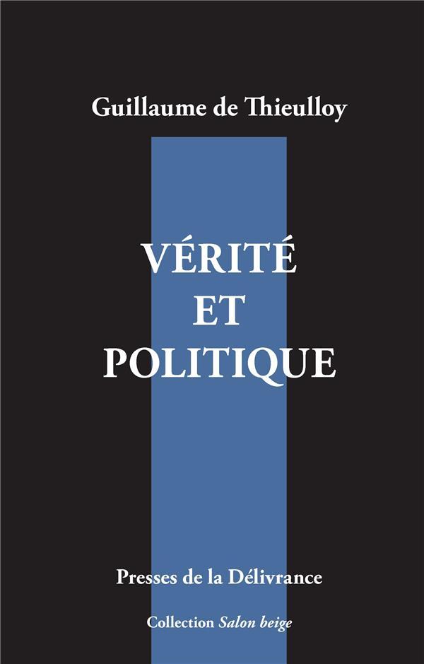 SALON BEIGE - T02 - VERITE ET POLITIQUE