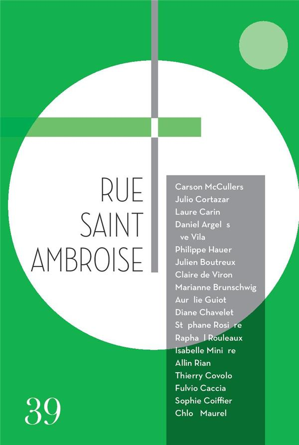 RUE SAINT AMBROISE - N 39 - NUMERO 39