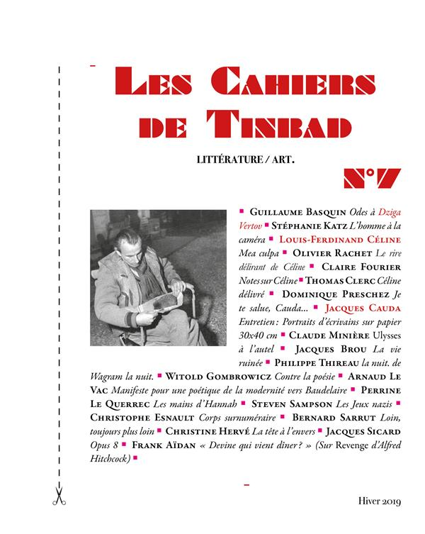 LES CAHIERS DE TINBAD N 7