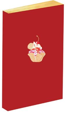 CARNET CUP CAKE BRODE