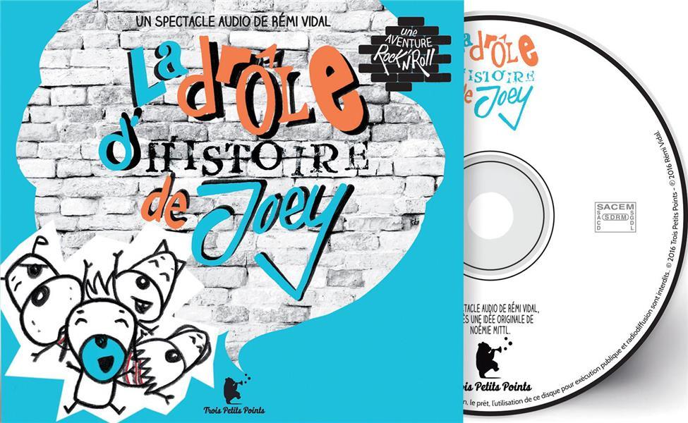 LA DROLE D'HISTOIRE DE JOEY