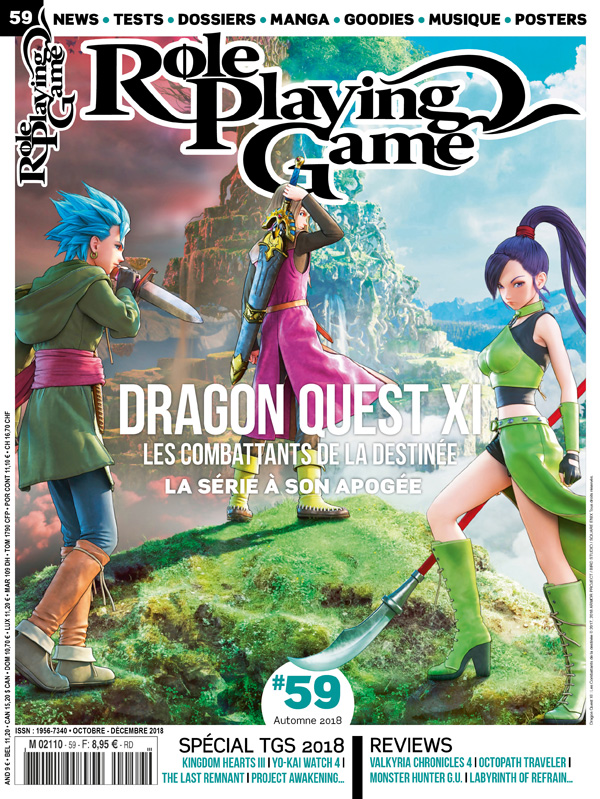 ROLE PLAYING GAME 59 OCTOBRE-DECEMBRE 2018