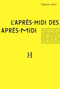 L'APRES-MIDI DES APRES-MIDI