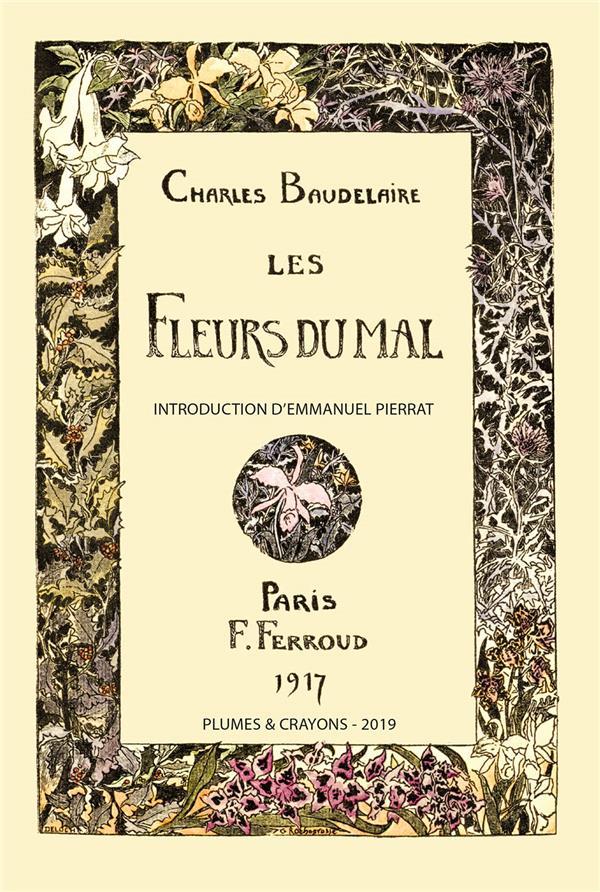 LES FLEURS DU MAL. ILLUSTRATIONS DE ROCHEGROSSE